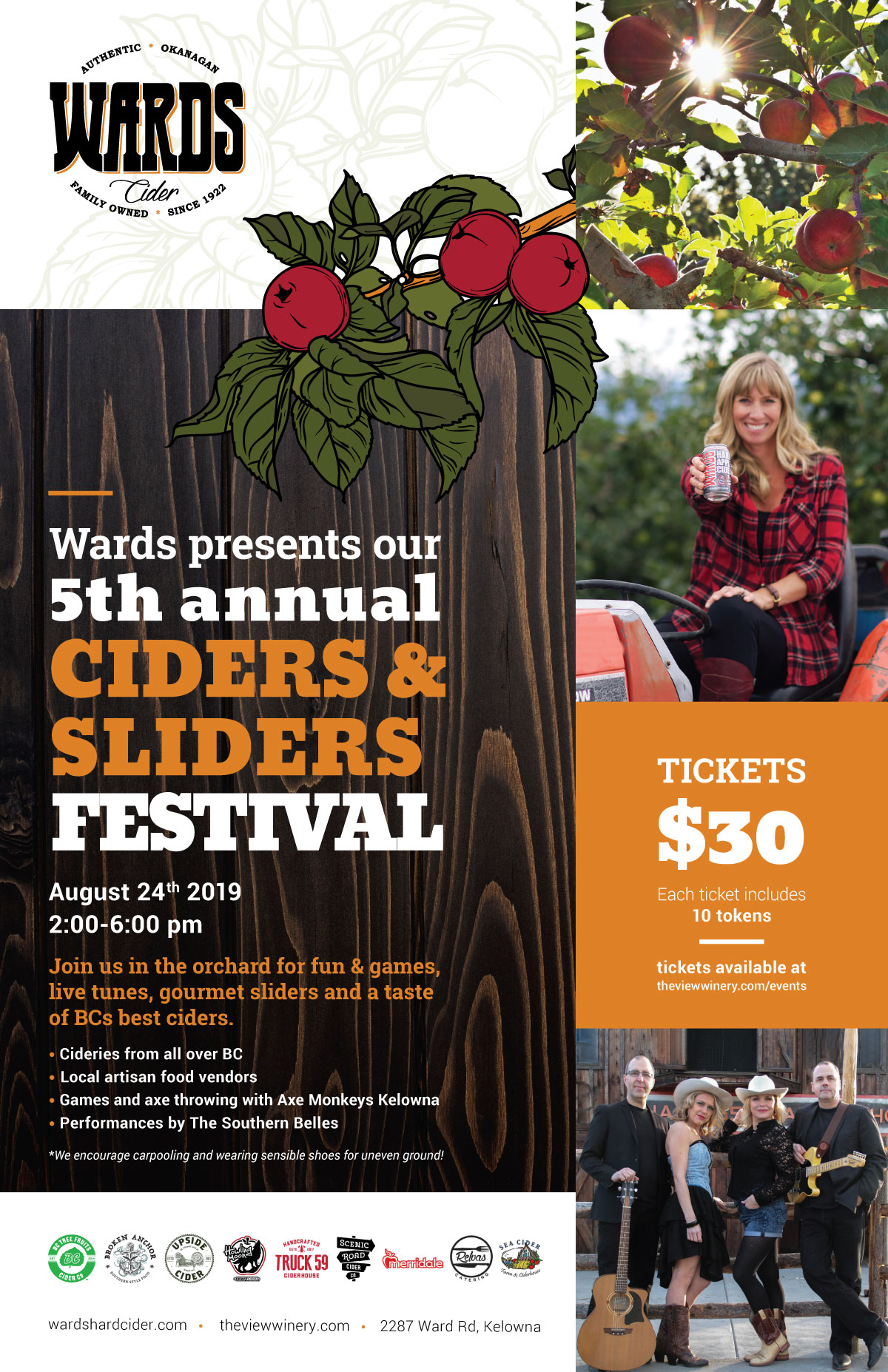 The View Ciders & Sliders Festival 2019