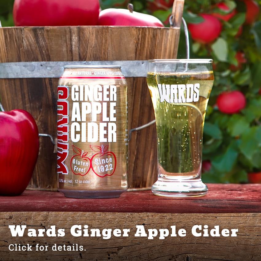 Wards Ginger Apple Cider